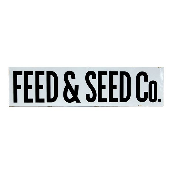 Picture of Feed & Seed Co Sign