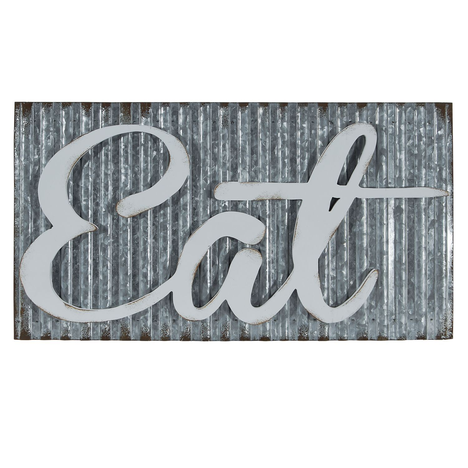 Picture of Eat Galvanized Sign