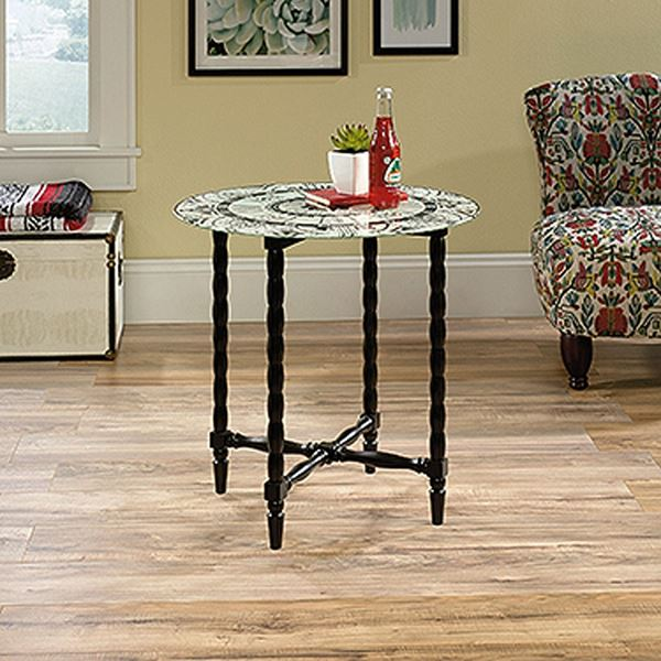Picture of Viabella Side Table SasparillaBlack * D