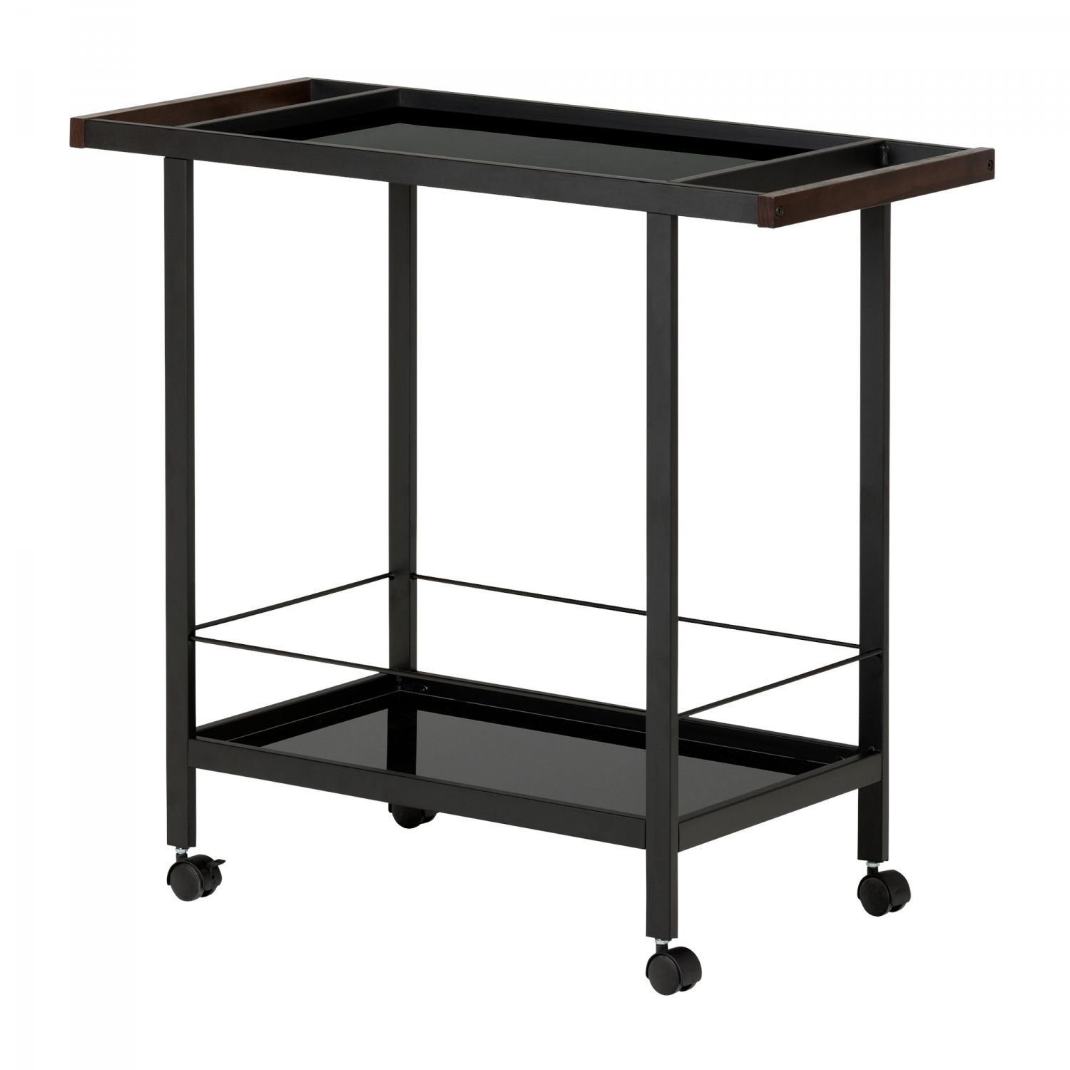Picture of City Life Metal Bar Cart on Wheels