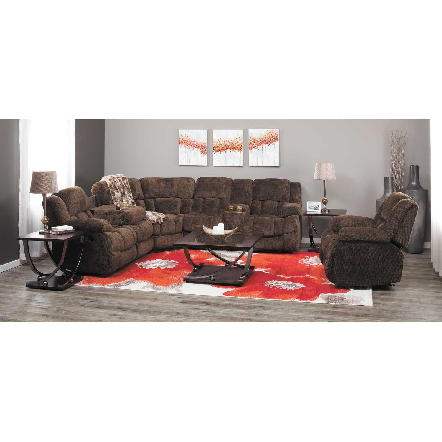 Picture of Eldon 6 Piece Power Reclining Sectional