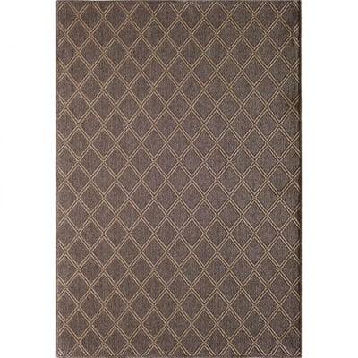 Picture of Easy Clean Diamond Natural 5x8 Rug