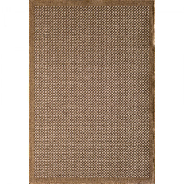 Picture of Easy Clean Earth Textured 8x10 Rug