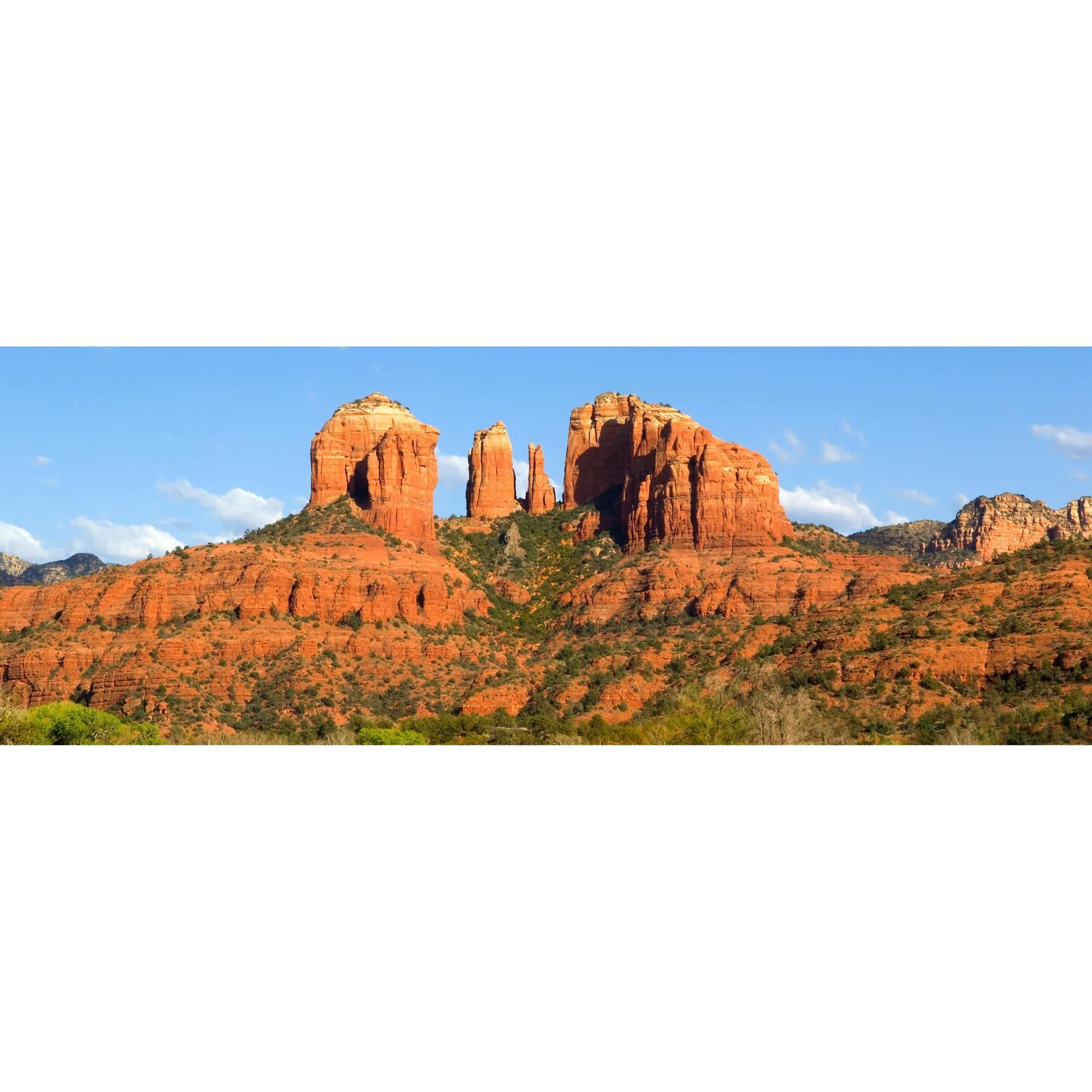 Classic Cathedral Rock 60x20