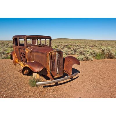 A Relic of the Old Route 66 36x24