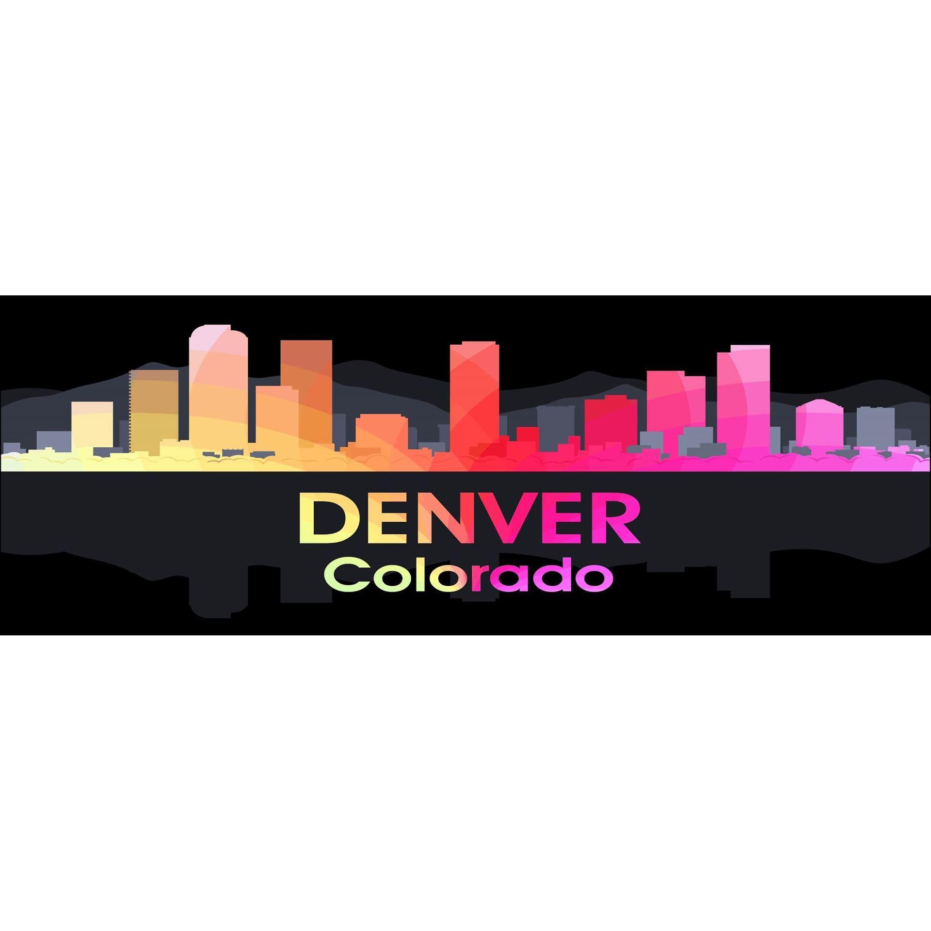 Denver CO Night Lights 60x20