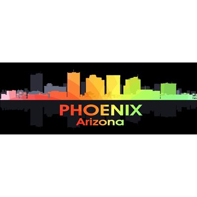 Phoenix AZ Night Lights 60x20