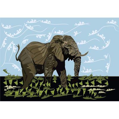 Elephant 16x24