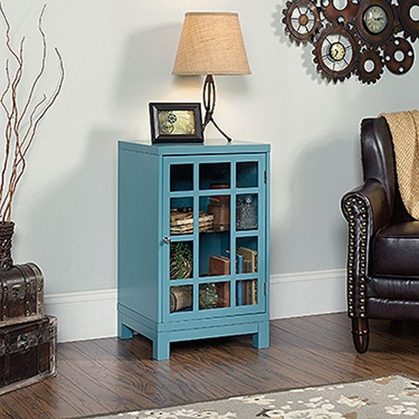 Picture of Carson Forge Display Cabinet Moody Blue