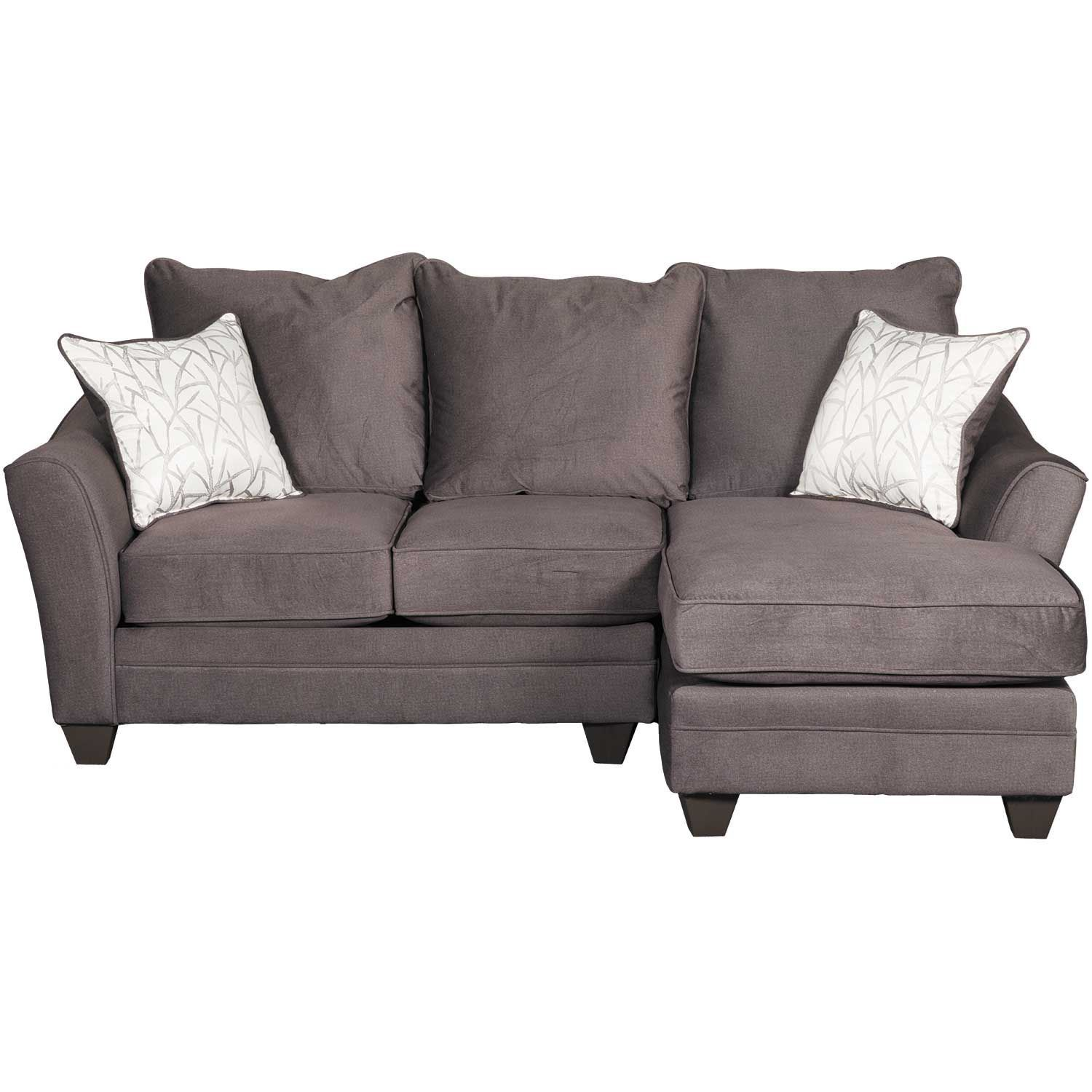 Flannel Seal 2 Piece Sectional With Laf