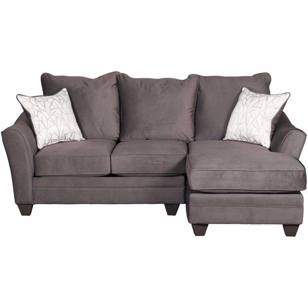Picture of Flannel Seal 2 Piece Sectional with LAF Loveseat