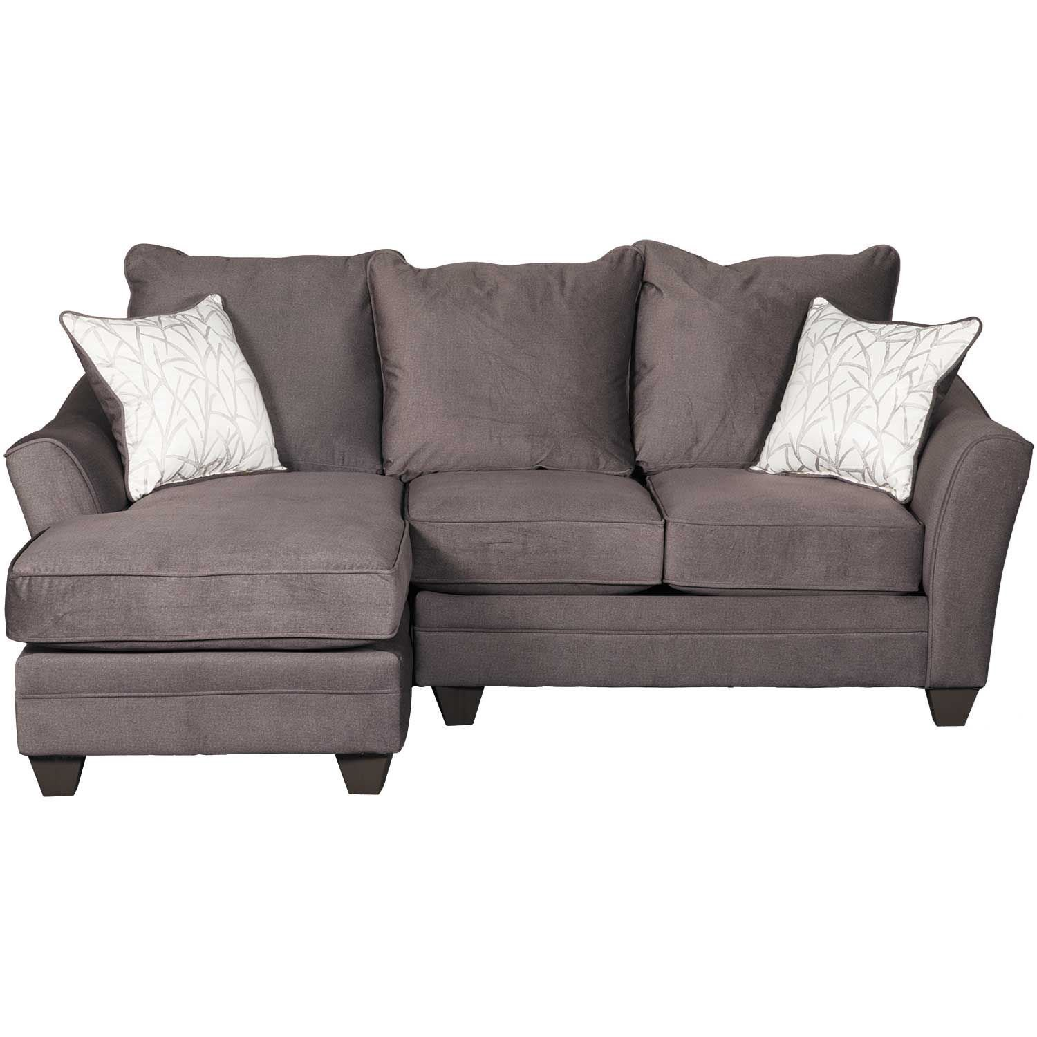 Tremendous Flannel Seal 2 Piece Sectional With Raf Loveseat Cjindustries Chair Design For Home Cjindustriesco