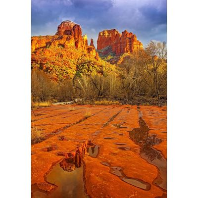 Cathedral Rocks Sedona AZ 32x48