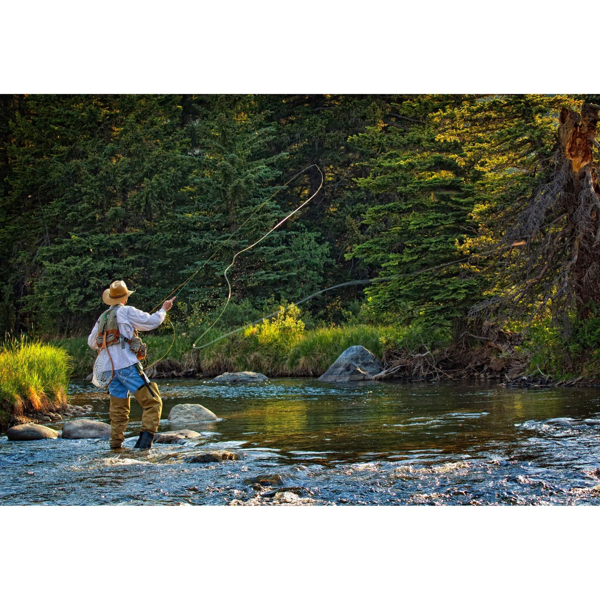 Fly Fishing Perfection-Color 48x32