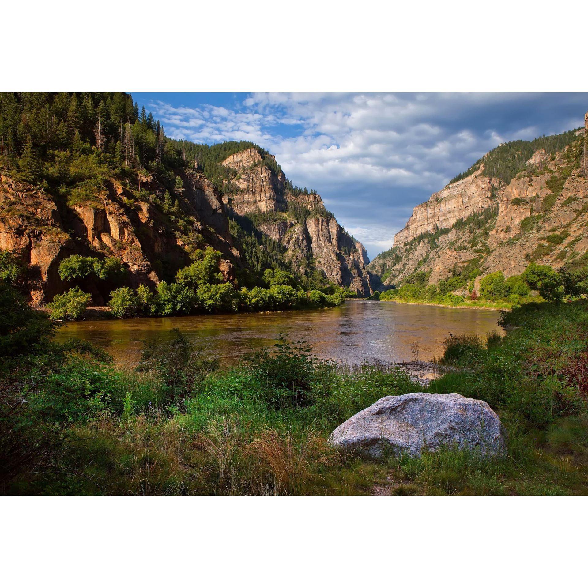 Glenwood Canyon Morning 48x32