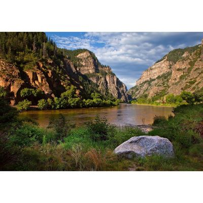 Glenwood Canyon Morning 48x32