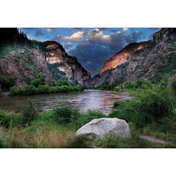 Glenwood Canyon at Dawn 48x32