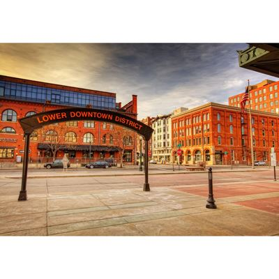 Lodo & Union Station 36x24