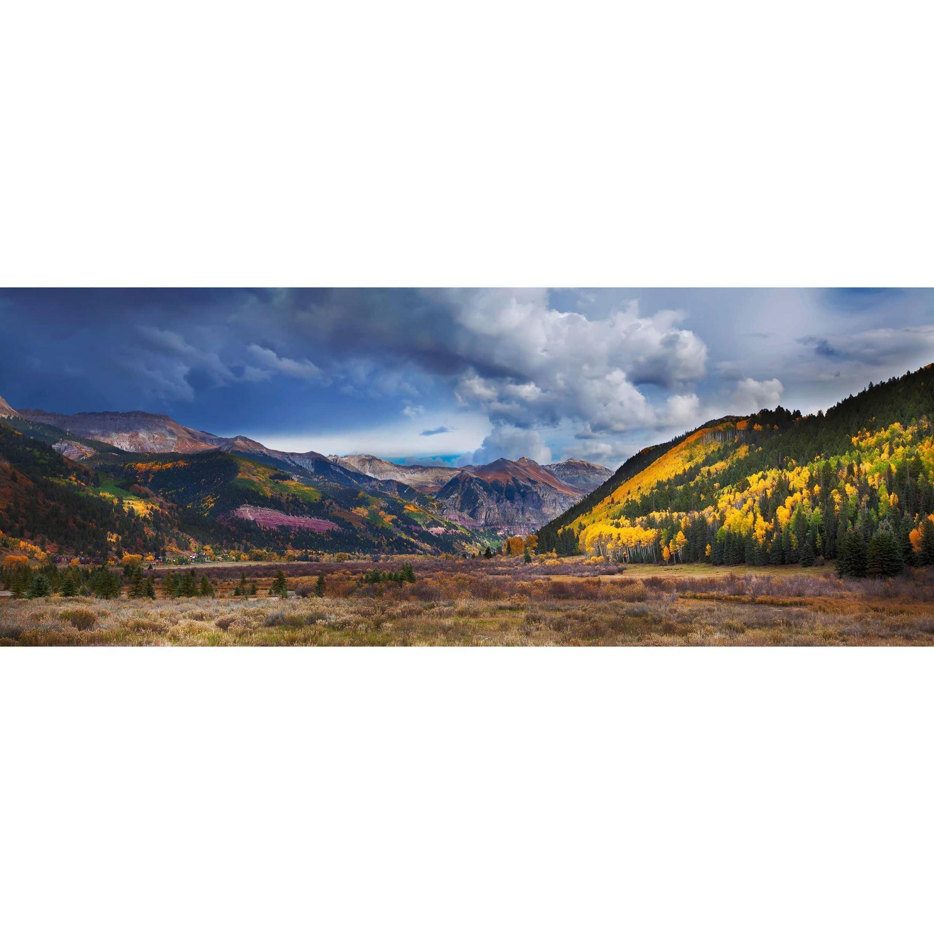 Telluride Valley Pano 36x12