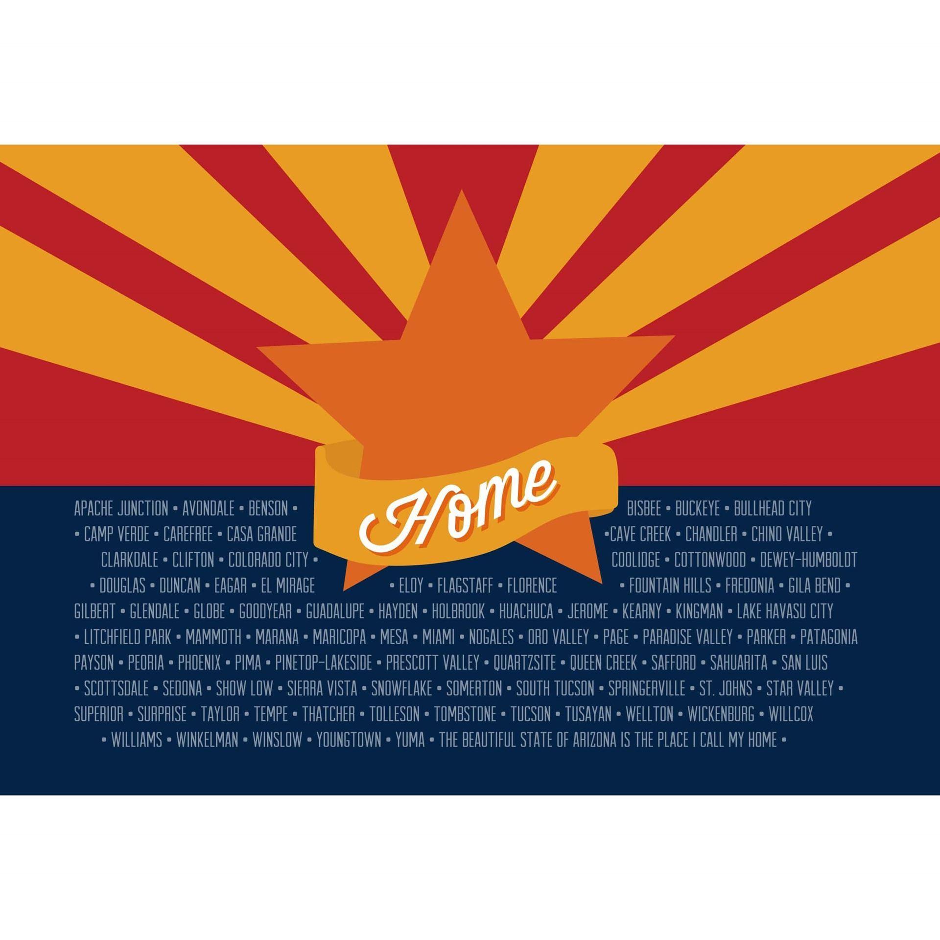 Arizona Flag 36x24