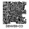 Denver Neighborhoods 36x36