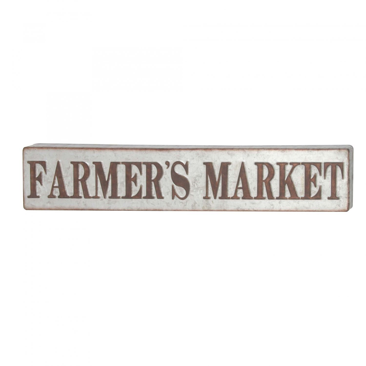Picture of Farmer's Market Metal Sign