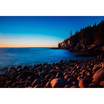 Otter Cliffs Sunrise 36x24