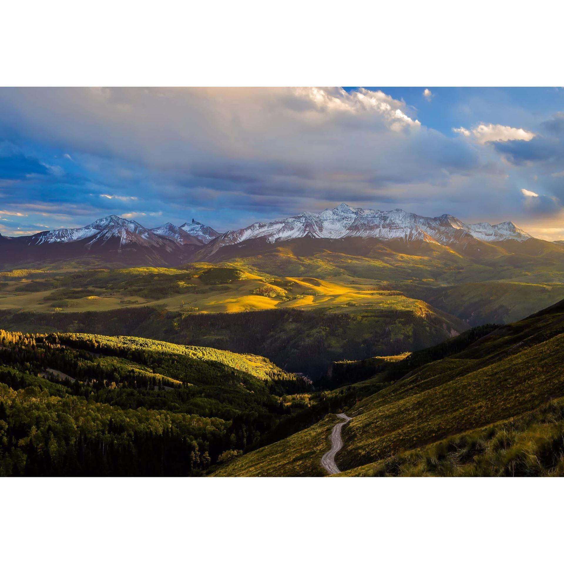 Wilson Peak Sunset 36x24
