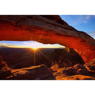 Sunrise At Mesa Arch 48x32