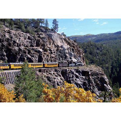 Durango To Silverton Rail 36x24