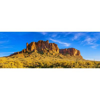 Superstition Mountain Sunset 60x20