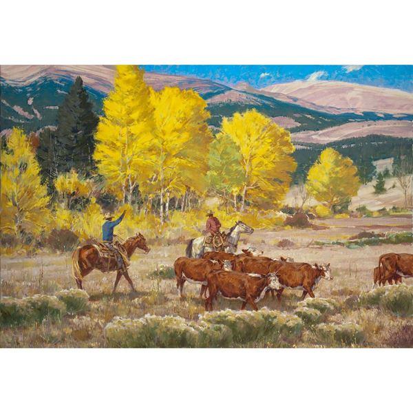 Rocky Mountain Gold 48X32