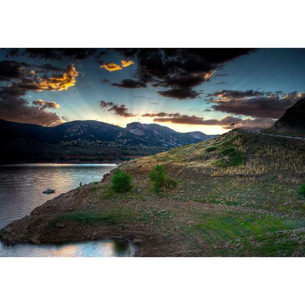 Horsetooth Sunset 48X32