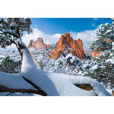 Garden of the Gods after Snow 48X32