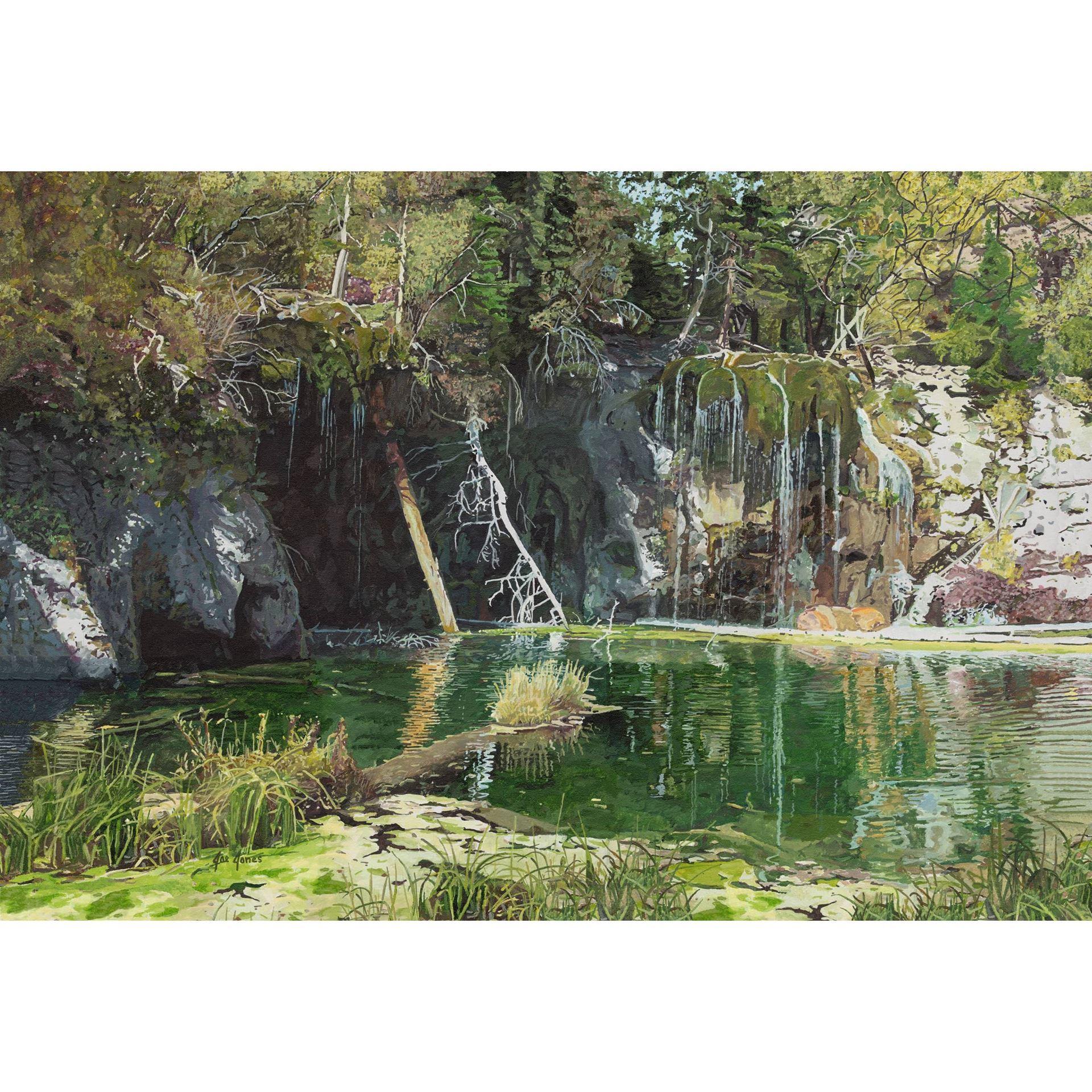 Hanging Lake 48x32