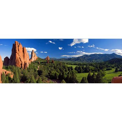 Pano Garden of the Gods 60x20