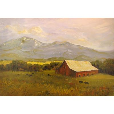 Out to Pasture 48X32