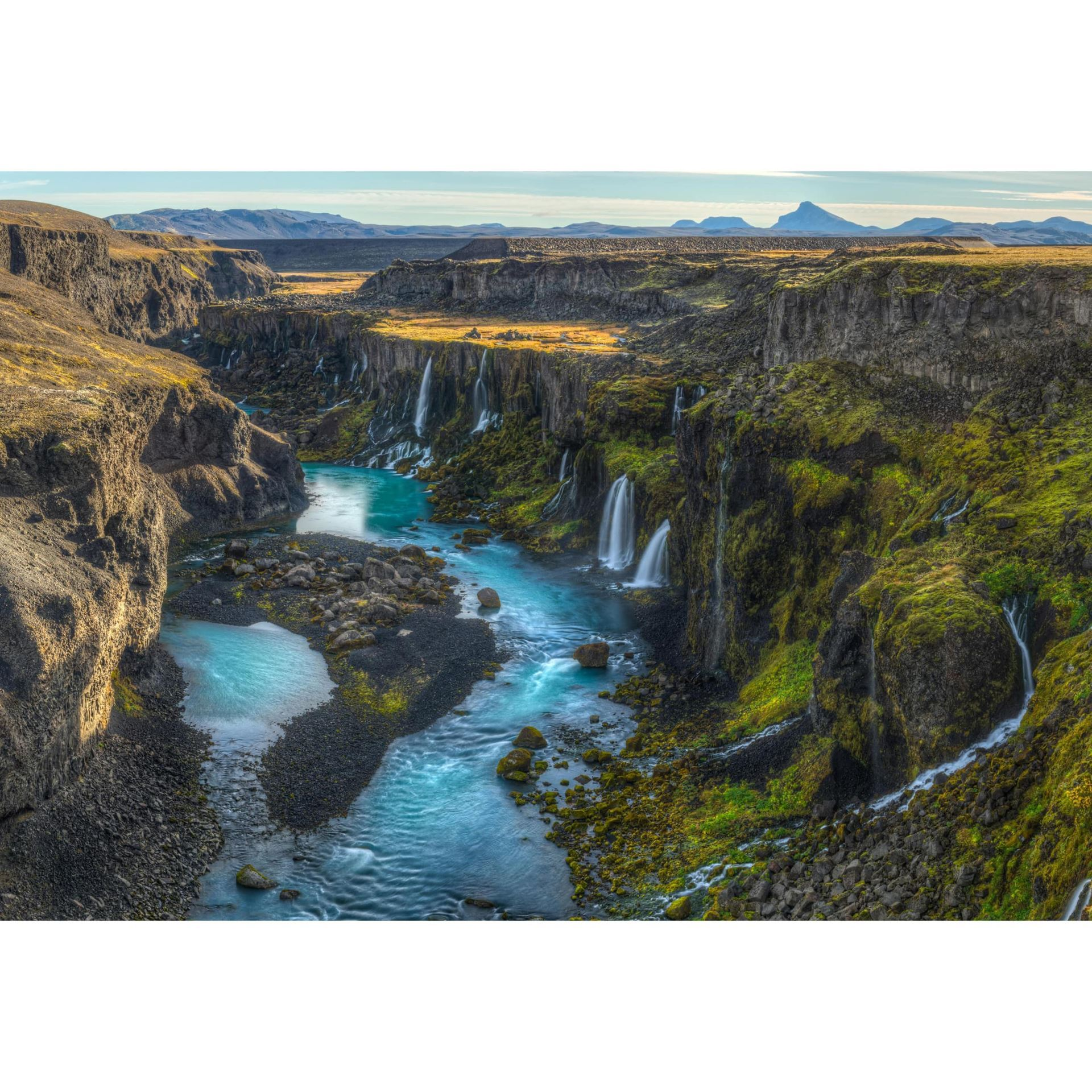 Iceland River 48x32