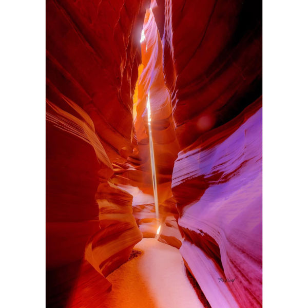 Antelope Canyon Light Beam 24x16