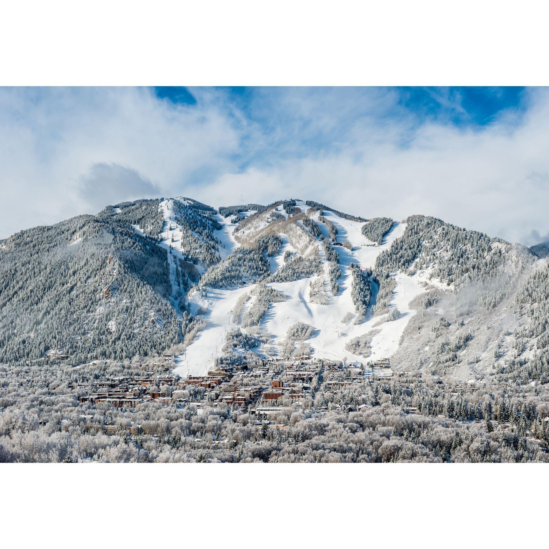 Winter Wonderland In Aspen CO 24x36