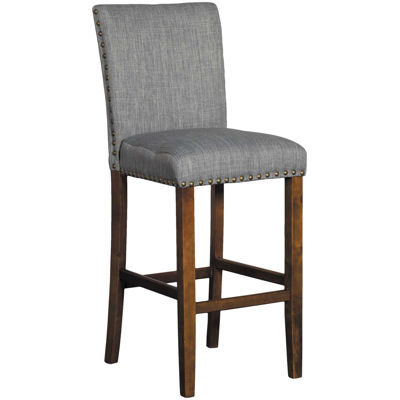 "Picture of Grey Linen 30"" Barstool"