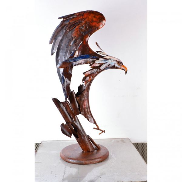 Picture of Eagle Metal Sculpture
