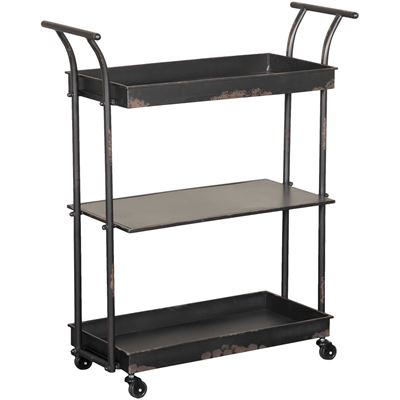Picture of Metal rolling cart
