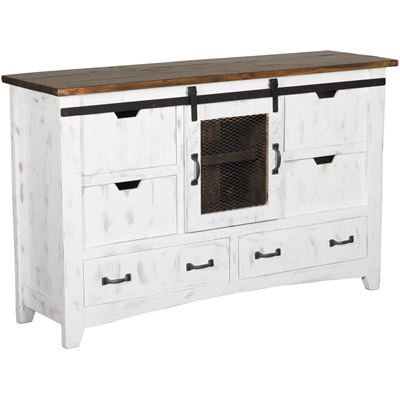 Picture of Pueblo White Dresser