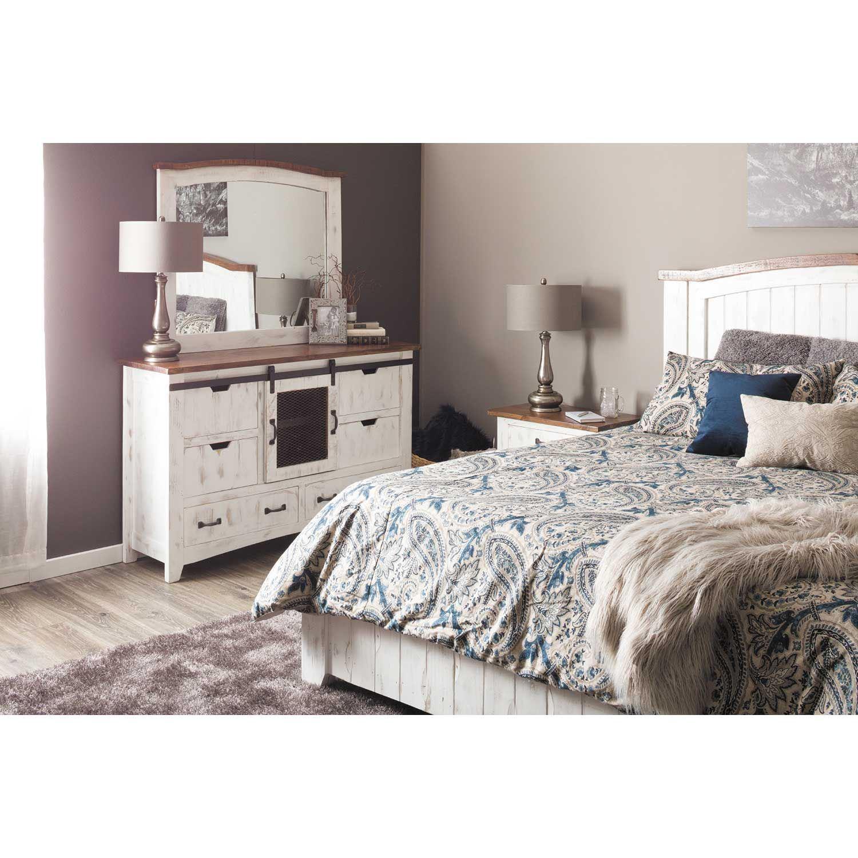 Picture of Pueblo White Dresser