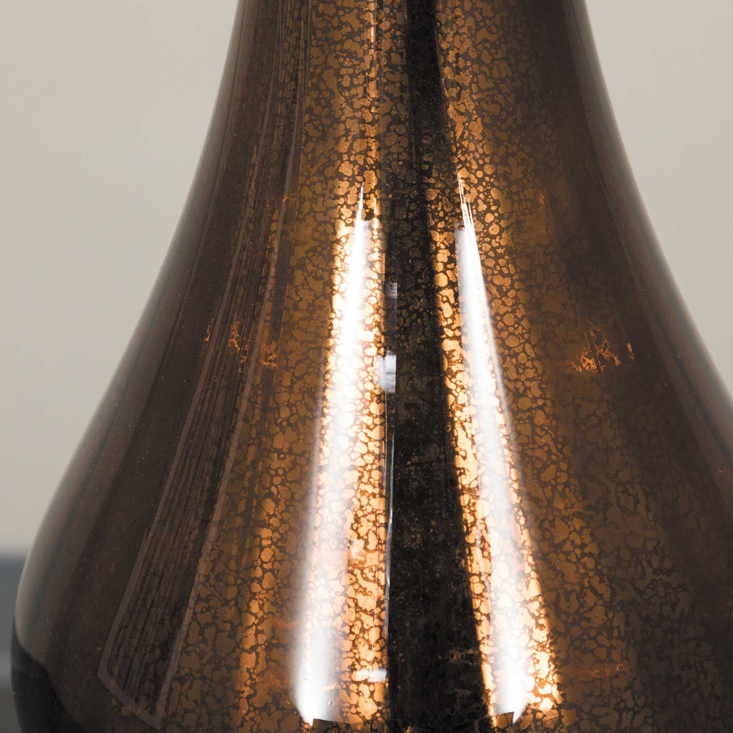 Picture of Amber Glass Table Lamp