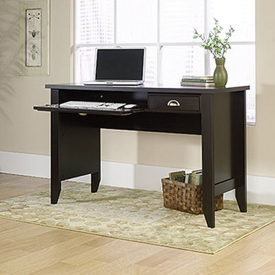 Picture of Shoal Creek Computer Desk Jamocha Wood