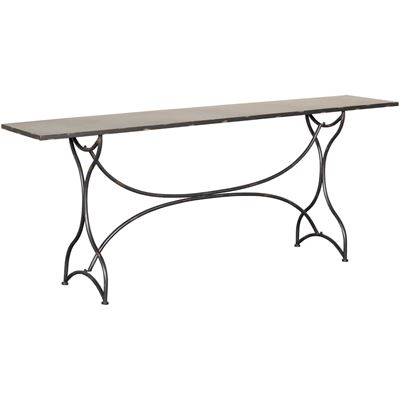 Picture of Black Metal Hall Table
