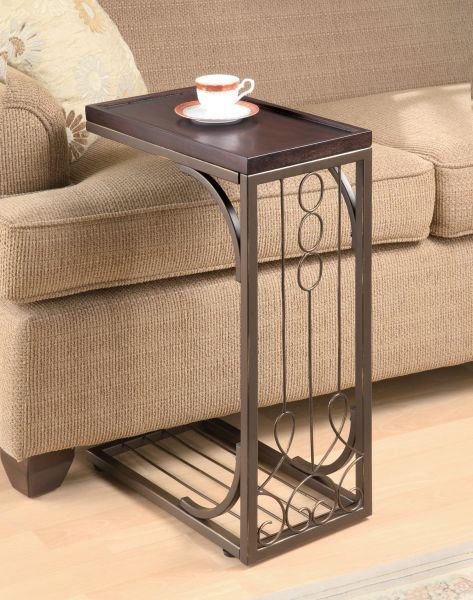 Picture of Snack Table, Brown *D