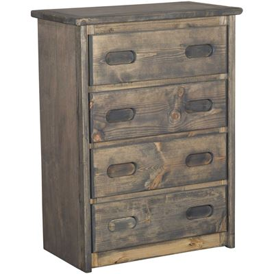 Picture of Cheyenne Driftwood 4 Drawer Chest